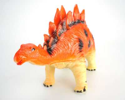 Stegosaurus Dinosaur, Model Action Figure Soft Vinyl Plastic