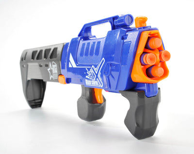 Ferz Armor Firearm (foldable), Manual Soft Bullet Gun Toys