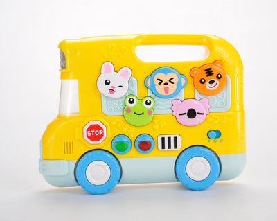 VIGO Animal School Bus Toy