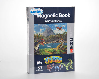 Magnetic Playbook Puzzle, Dinosaur Spell Theme