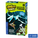 I Dig It Dinos, Glow In The Dark Pterosaur, Excavation Kit