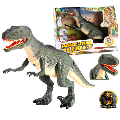 Velociraptor Dinosaur, Model Action Figure Soft Vinyl Plastic