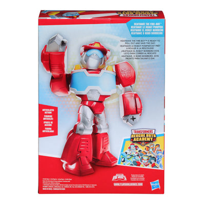Transformers Rescue Bot Academy Mega Mighties Assorted 10-inch Figures - Heatwave the Firebot