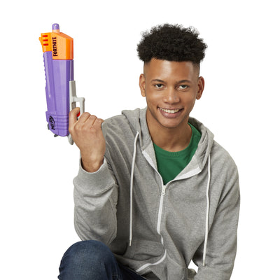 Fortnite HC-E Nerf Mega Dart Blaster, Includes 3 Official Nerf Mega Fortnite Darts