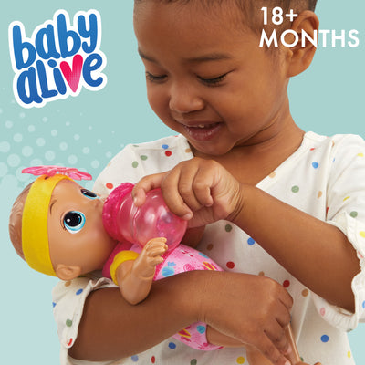 Baby Alive Sweet 'n Snuggly Baby, Soft-Bodied Washable Doll