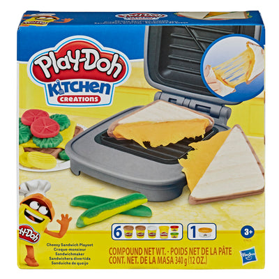 Play-Doh Kitchen Creations Cheesy Sandwich Playset
