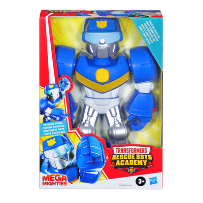 Playskool Heroes Mega Mighties Transformers Rescue Bots Academy Chase the Police-Bot