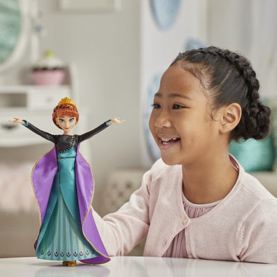 "Disney Frozen Musical Adventure Anna Singing Doll, Sings ""Some Things Never Change"" Song from Disney's Frozen 2 Movie"