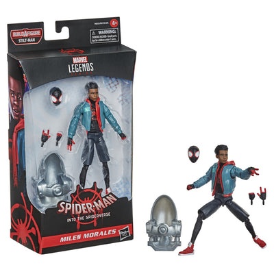 Hasbro Marvel Legends Series Spider-Man: Into the Spider-Verse Miles Morales 6-inch