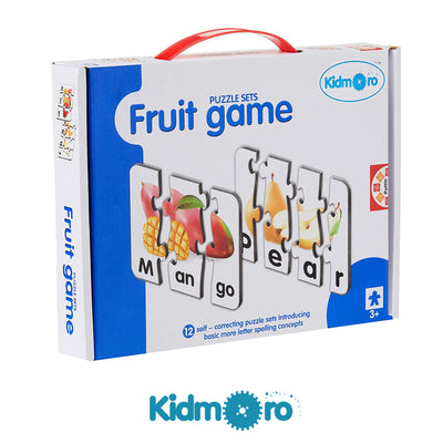 Fruit Game Puzzle Set