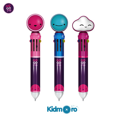 10-in-1 multi colour pen