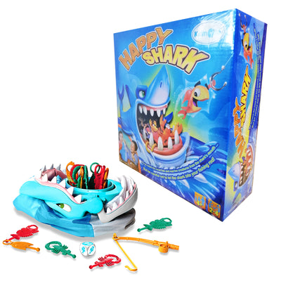 Happy Shark Game, Save your Catch before Shark Snaps, Fun Kids Game
