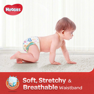 Huggies Silver Tape Diapers (Size M)