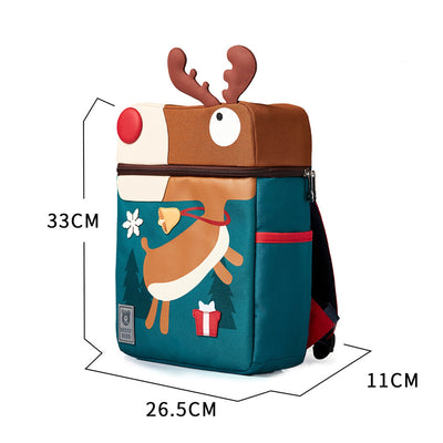 Beddy Bear Kids School Bag - Elk Design