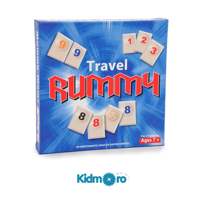 Rummy Mini Travel (2-4 players), Rummy Tile Board Game