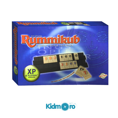 Rummikub Deluxe XP (2-6 Players) + Free Gift (Puzzle Fruit Game)