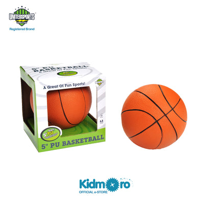 5-inch PU Basketball, Kids Sport Indoor/Outdoor Play