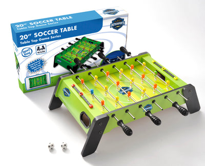 20-inch Wooden Soccer Table Game
