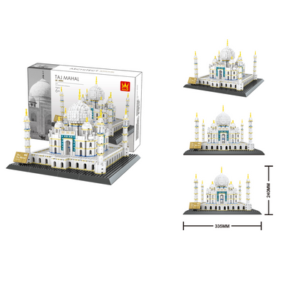 The Taj Mahal of Agra Building Bricks Sets (1,505 pcs.)