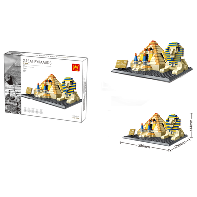 The The Great Pyramid of Giza Building Bricks Sets (622 pcs.)
