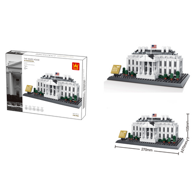 The White House of Washington Building Bricks Sets (770 pcs.)