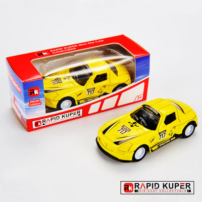 Car Series, Die Cast, Color Yellow