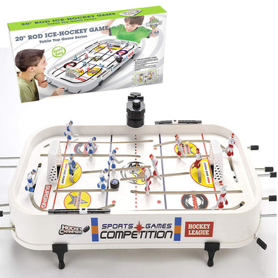 "20"" Rod Hockey Table Game, Tabletop Game Series"