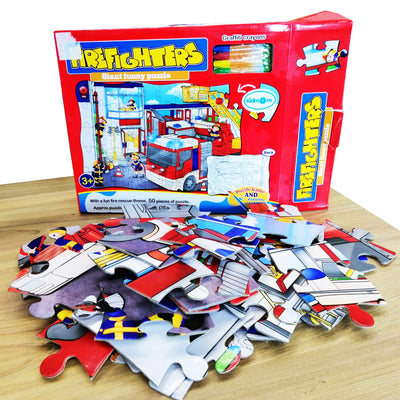 Firefighters Giant Funny Puzzle Set