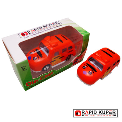 Cartoon Series, Die Cast, Color Orange