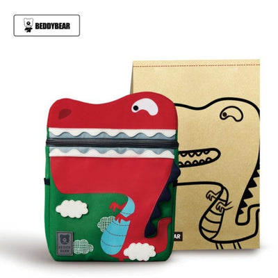 Beddy Bear Kids School Bag - Dinosaur Design