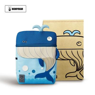 Beddy Bear Kids School Bag - Whale Design