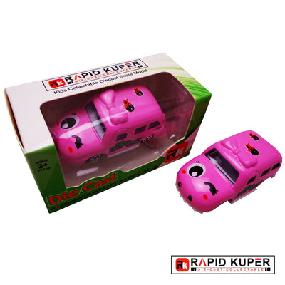 Cartoon Series, Die Cast, Color Light Pink