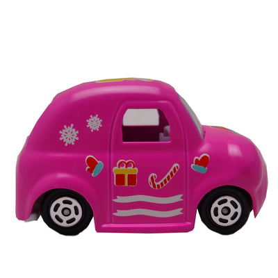 Cartoon Series, Die Cast, Color Dark Pink