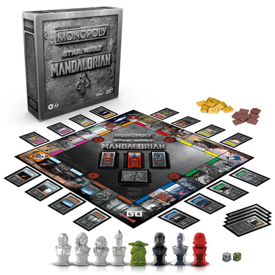 "Monopoly: Star Wars The Mandalorian Edition Board Game Protect The Child (""Baby Yoda"")"