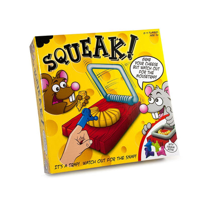 Squeak Fun Game, Its a Trap, Watch-out for the Snap!