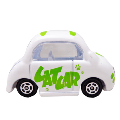 Cartoon Series, Die Cast, Color, White Green