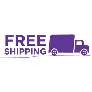 Free shipping on all orders of $75.00 or more.
