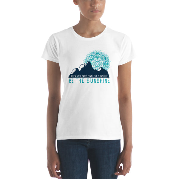 Sunshine - Teal Tee