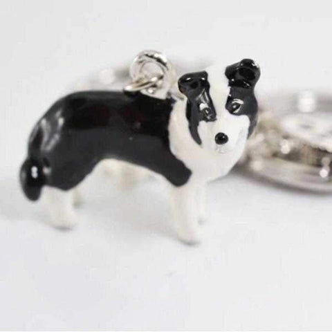 3D Border Collie Key Ring-DoggyTopia