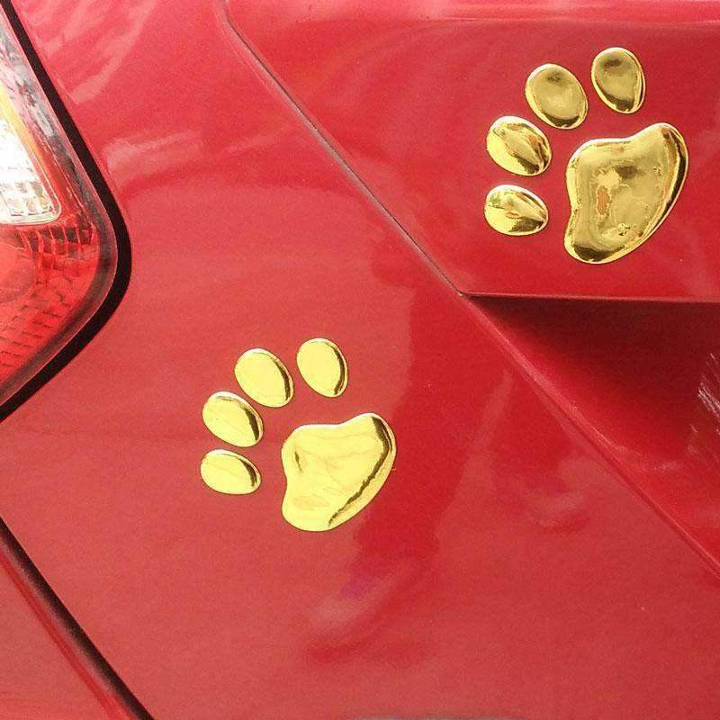 3D Dog Paws Car Decal-DoggyTopia