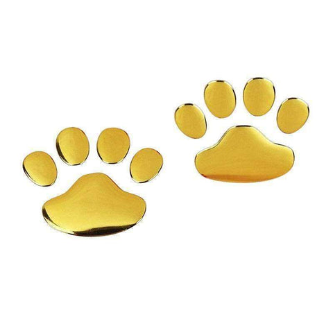 Image of 3D Dog Paws Car Decal-DoggyTopia