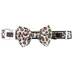 Big & Little Dogs Tis' the Season to Sparkle (with REAL GLITTER) Collar & Bow Tie