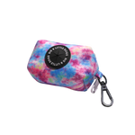 Big & Little Dogs Poop Bag Holder: Tie Dye For