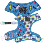 Big & Little Dogs Surf's Up Reversible Harness