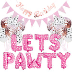 Lets Pawty Party Pack - Pink (34pcs)