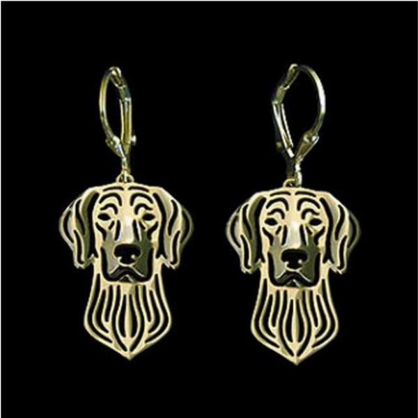 Dog Earrings - Weimaraner