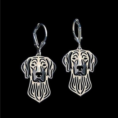 Image of Dog Earrings - Weimaraner