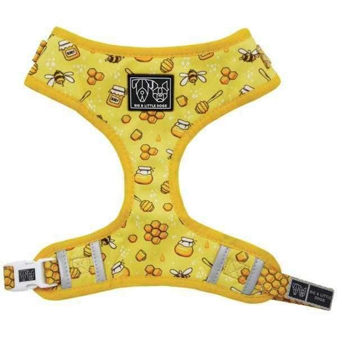 Big & Little Dogs Bee-Hiving Adjustable Harness-DoggyTopia