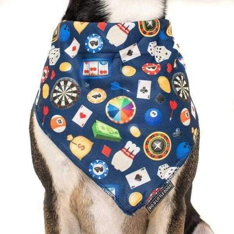 Big & Little Dogs High Roller Bandana-DoggyTopia