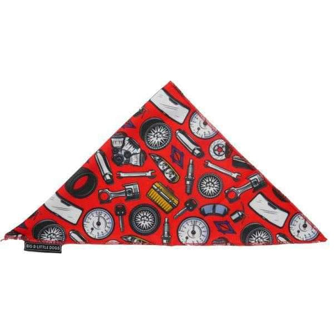 Big & Little Dogs Need For Speed Bandana-DoggyTopia